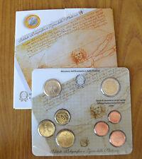 SERIE UFFICIALE COMPLETA ITALIANA 8 MONETE EURO 2006
