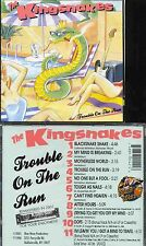THE KINGSNAKES Trouble On The Run  free shipping*  SYRACUSE NY  BLUES Harp  BEST