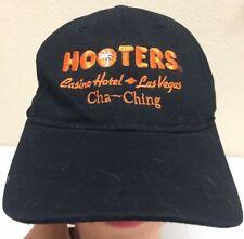 Hooters Casino Hotel Las Vegas Cap Hat Black/Orange One Size c5