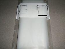 New IKEA NACKTEN Clear Plastic Transparent Bathroom Shower Curtain