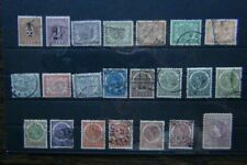Netherlands Indies 1902 values to 1G 1902 Surcharges Used