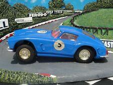 SCALEXTRIC 1960'S FERRARI 250 BERLINETTA MM/C69  #5 BLUE 1:32 SLOT USED UNBOXED
