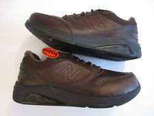 Men's NEW BALANCE MW928 V2 Walking leather sneaker shoe brown size 10.5 2E WIDE