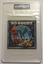 GWEN STEFANI, Kanal, Dumont & Young Signed NO DOUBT Band CD Cover JSA & PSA/DNA