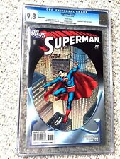 Superman #701 DC Comics Sept 2010 CGC 9.8 White ps Homage issue Free reader F/NM