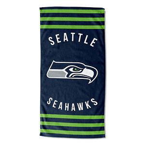 "New Football Team Seattle Seahawks Beach Towel Bath 30'' x 60"" Licensed"