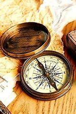Antique Nautical Marine Poem Compass Handmade Christmas Gift