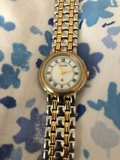 Accurist Classic Ladies Watch Gold And Silver Metal Braclet