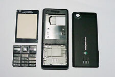 Black Housing fascia facia cover case faceplate for Sony Ericsson J105 j105