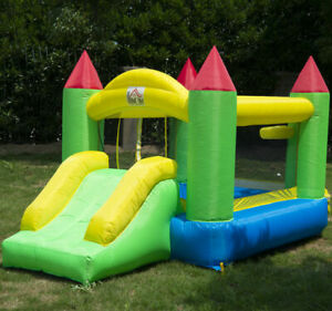 Bounce House Inflatable Kids Jumper Jump Bouncy Castle Moonwalk Slide w/ Blower