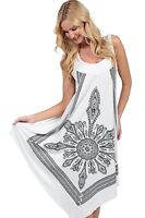 Crochet Casual Dress Embroidery Summer Beach Handkerchief Dress ICT311