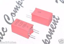 10pcs - WIMA MKP2 0.22uF (0,22µF 220nF) 100V 5% pitch:5mm Capacitor