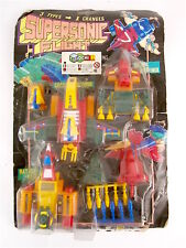 VINTAGE LH TOYS INTERCHANGER SUPERSONIC FLIGHT 3 TYPES X CHANGES TRASFORMABLE!