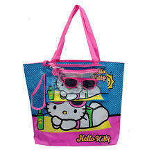 Hello Kitty 4 in 1 Beach Tote Sunglasses Kangaroo Pouch Wet Suit Bag NEW