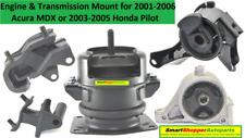 Engine and Transmission Mount For 2001-2006 Acura MDX, 03--05 Honda Pilot 9M1514