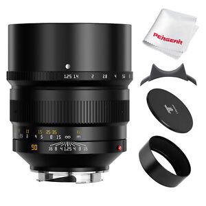TTartisan 90mm F1.25 Full Frame Portrait Lens for Leica M-mount M2 M6 M7 M240