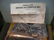 "Ho Bachmann Bridge & Trestile Set ""Kit"" Set New O/S 3 Photos ""Read Details"""
