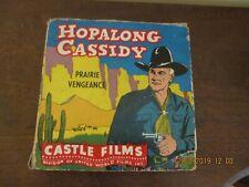 "1950s Hopalong Cassidy Large 16 MM Film In Box #568 ""Prairie Vengeance"""
