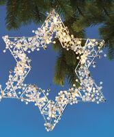 LED Stern  27 x 33 cm Beleuchtete Dekoration
