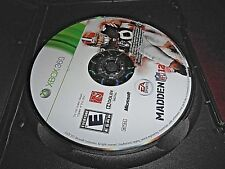 Madden NFL 12 (Xbox 360, 2011) NOT ORIGINAL CASE