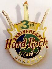 Hard Rock Cafe Pin  Jakarta 3rd Anniversary HRC