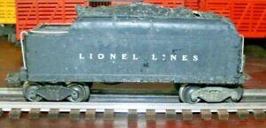 RARE LIONEL 671W TENDER IN FAIR CONDITION.