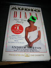 Diana : Her True Story by Andrew Morton (1992, Cassette, Abridged)
