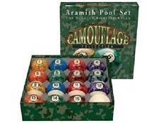 Aramith Camouflage Pool Ball Set Billiards Balls w/ FREE Shipping