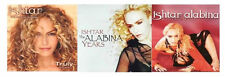 3 new ISHTAR ALABINA CDs LOT ~ Arabic/Arabian pop music