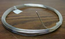 5 feet 16 AWG Silver Plated Copper Bus Wire Solid 1 Strand