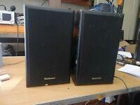 technics SB-F911 2 way speakers 50 watts 8 ohms (537)