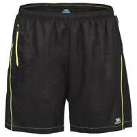 Trespass Walton Mens Active Shorts Running Gym Cycling Shorts