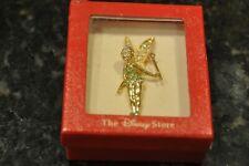 Disney Store Tinkerbell Beautiful Sparkly Ladies Broach Jewelry