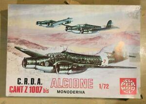 1/72 WW2 Bomber : CANT Z1007bis Alcione [ITALY]  - SUPERMODEL
