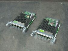 Lot of 2 Cisco Vic3-4Fxs/Did 4-Port Voice Fax Interface Card 73-12954-01