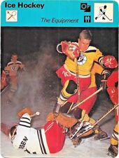 1978 Sportscaster Card Ice Hockey The Equipment # 21-12 NRMINT.