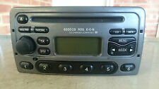 FORD MONDEO FOCUS FIESTA PUMA 6000 CD RADIO STEREO CD PLAYER Testata codice GRIGIO