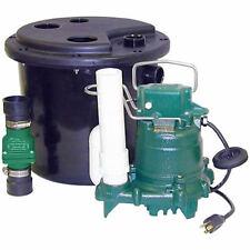 Zoeller 105-0001 - 1/3 HP (M53) Remote Sink/Drain Pump System w/ Vertical Flo...