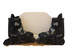 California Pro Techline Txt 550 Black Inline Skates size 10