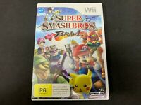 Super Smash Bros. Brawl Nintendo Wii Game *Complete* (PAL)