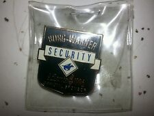 Late 1980's  Security - Burns Borg-Warner Pin. Pony Express Rider.