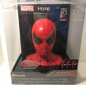 Spider Man Animated Eye Marvel iHome, Bluetooth Speaker Lautsprecher Led Augen