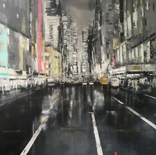 """Wednesday Evening in New York City"" by Jose Martinez"