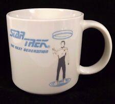 Star Trek Mug Lieutenant Commander Data Brent Spiner Coffee Tea Cup Paramount