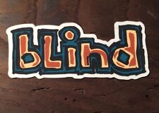 Vintage BLIND Skateboards Stricker Decal