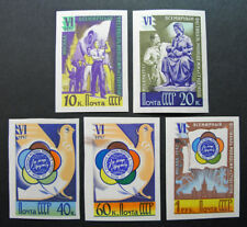 Russia 1957 1913//1940 MNH OG Russian Soviet Youth Festival Imperf Set $300.00!!