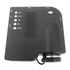 Home Portable LCD 1080P Mini Projector USB AV HDMI TV HD LED Video Pico Theater