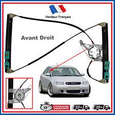 Leve vitre Pour AUDI A3 (8L) 3 Portes de 1996 à 2003 (coté Droit / Passager)