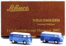 VW Bus T1 Set - Schuco Piccolo 1:90 - Nutzfahrzeuge IAA 2002 - limitiert - NEU