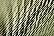 Real Carbon Fibre with Kevlar Cloth Fabric.Twill Weave 3k 180g. 300x200mm (A4).